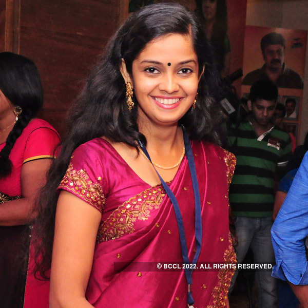 Celebs at Thilothama's pooja function
