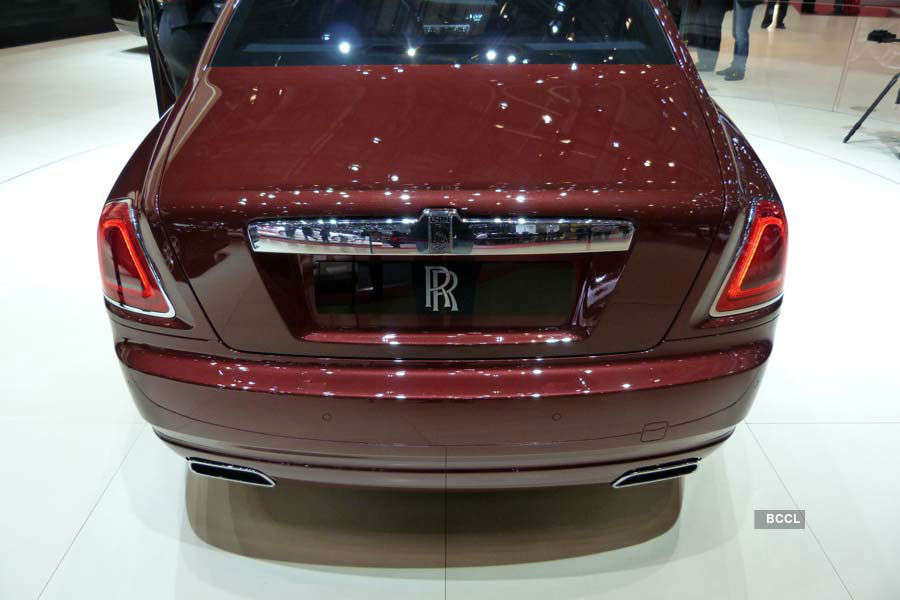 Rolls-Royce Ghost Series II launched
