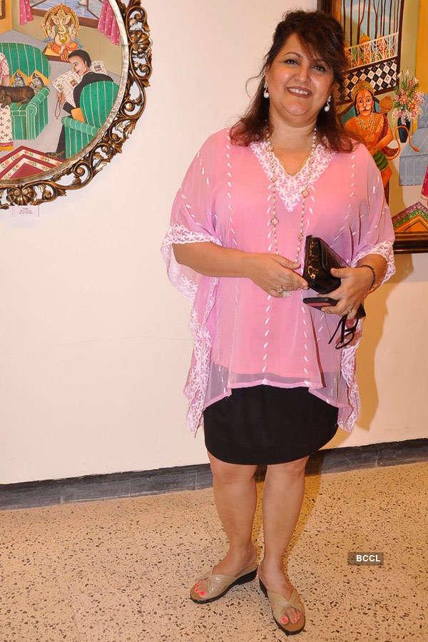 Naina Kanodia's painting exhibition
