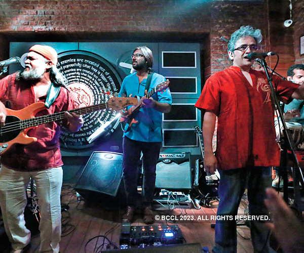 Indian Ocean performs in Gurgaon