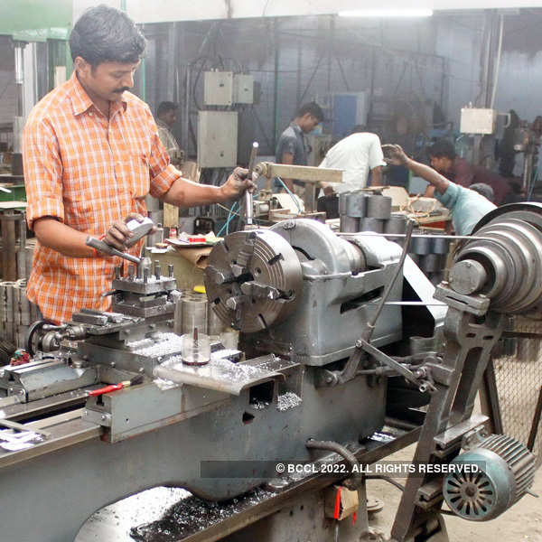 Industrial output up, price rise slows