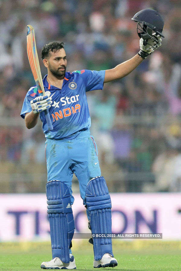 Rohit's record 264 leads Sri Lanka thrashing