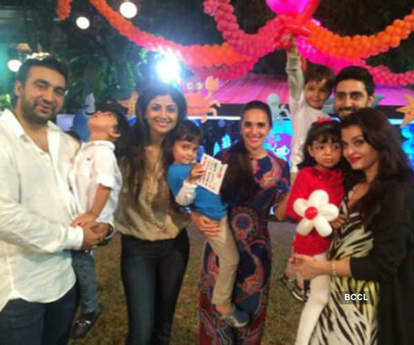 Aaradhya's birthday party