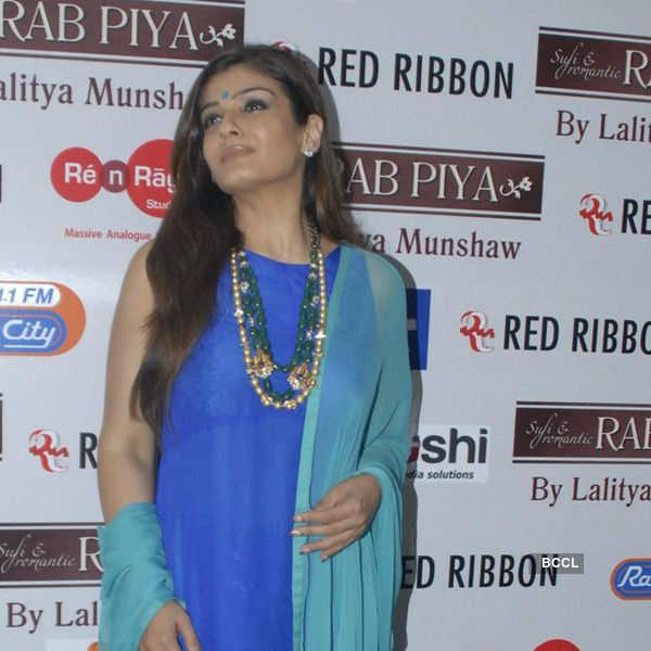 Raveena at Lalitya Munshaw's album launch
