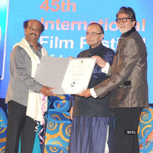 Celebs at Goa Film fest