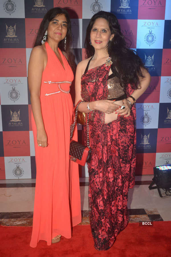 Celebs at JJ Valaya's fashion show