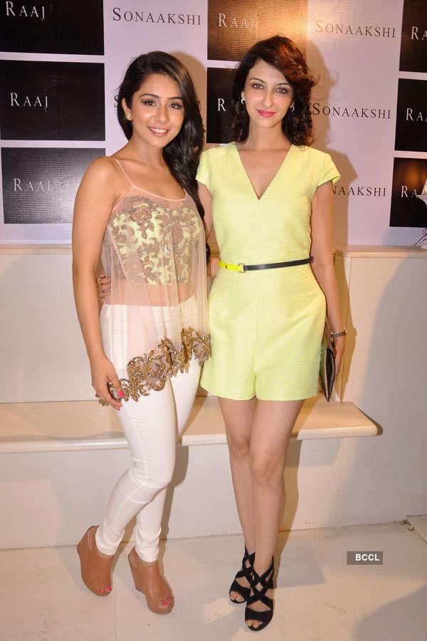 Celebs at Sonaakshi Raaj's store launch