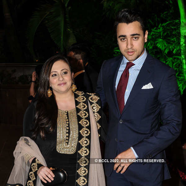 Arpita Khan-Aayush Sharma's wedding reception