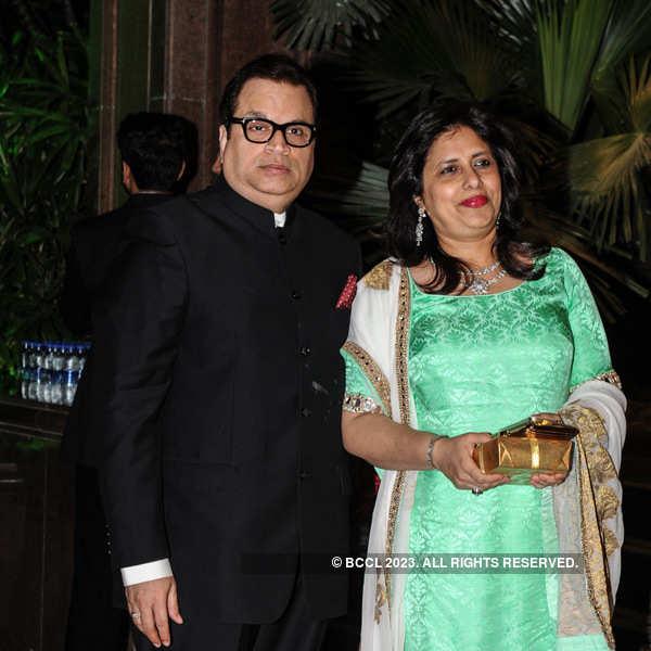 Arpita Khan-Aayush Sharma's wedding reception
