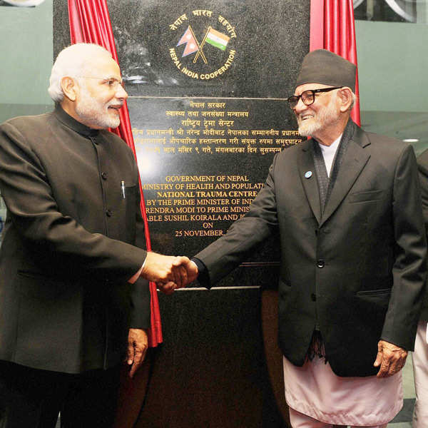 PM Narendra Modi signs 10 agreements with Nepal