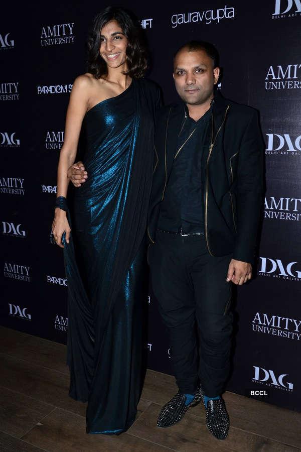 Anushka Manchanda During Fashion Designer Gaurav Gupta S Store Launch Held At Kala Ghoda In Mumbai On November 27 2014 Photogallery