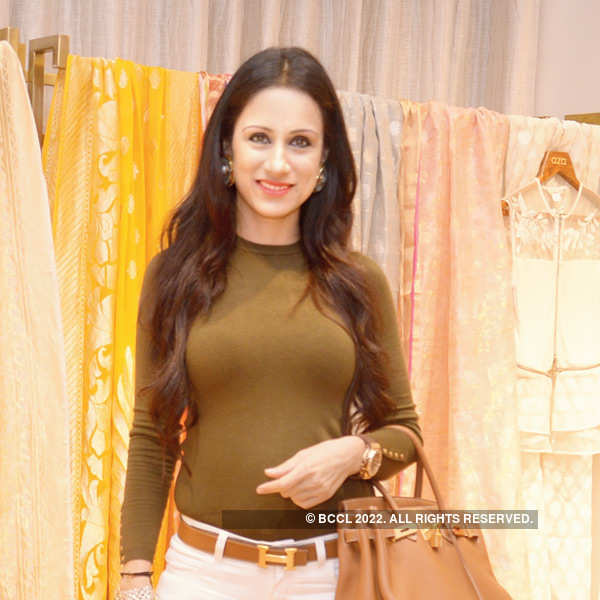Rahul Mishra launches collection