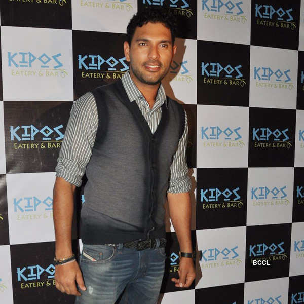 Celebs at a restaurant launch