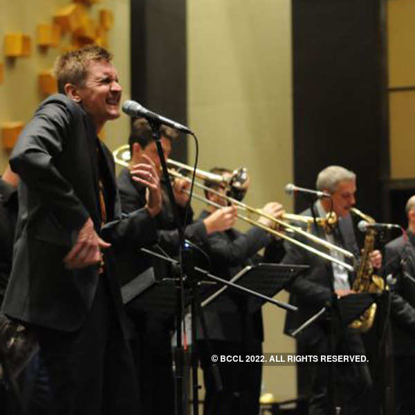 German jazz band performs at Park Hyatt