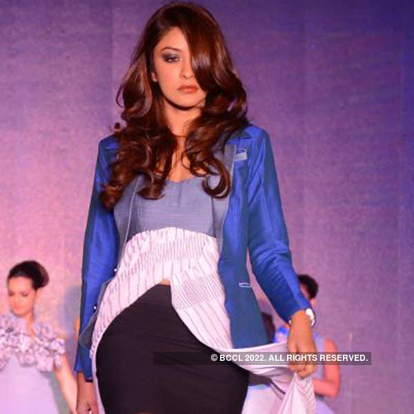 A fashion event in Hyderabad