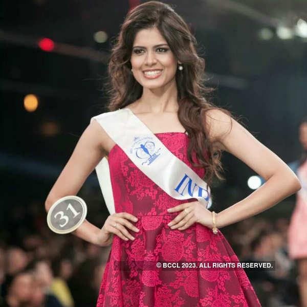 Asha Bhat at Miss Supranational
