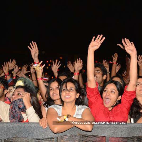 Farhan Akhtar rocks Windsong Music Festival