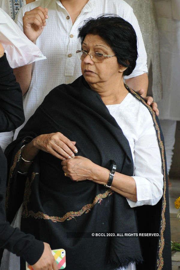 Deven Verma's funeral