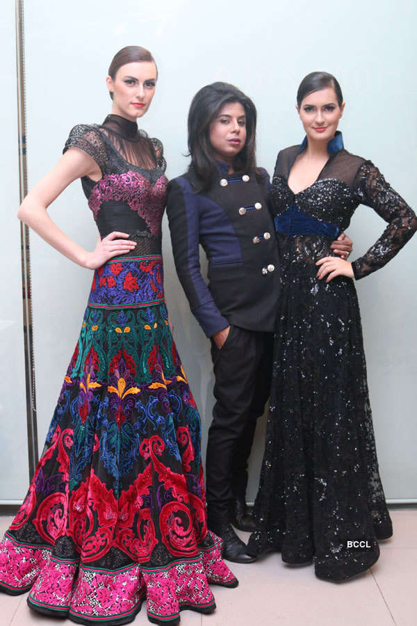 Sikandar Nawaz's fashion show in Delhi