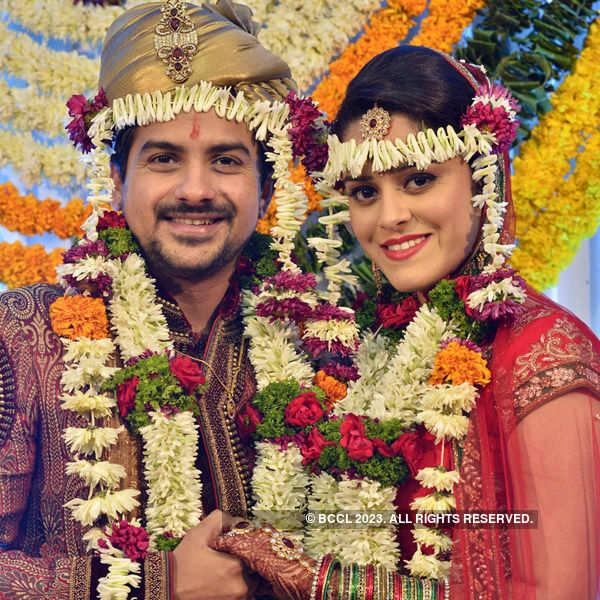 Pushkar Jog's marriage ceremony