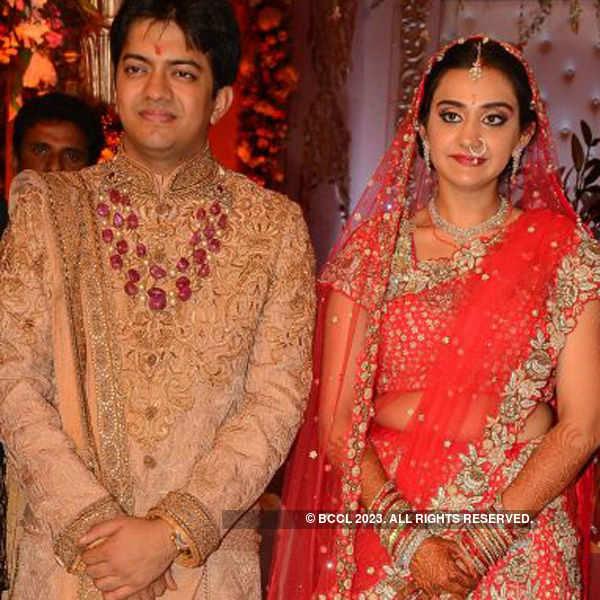 Ashish and Ravisha's wedding reception