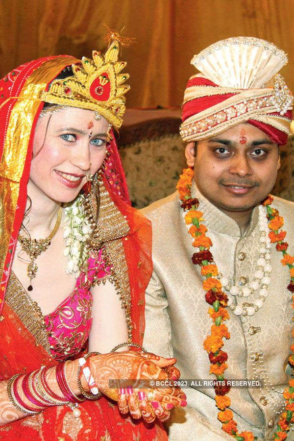 Panshul & Natalia's wedding ceremony
