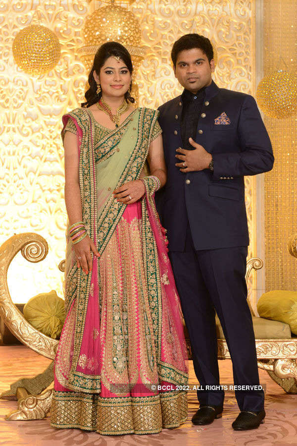 Malashree's wedding reception