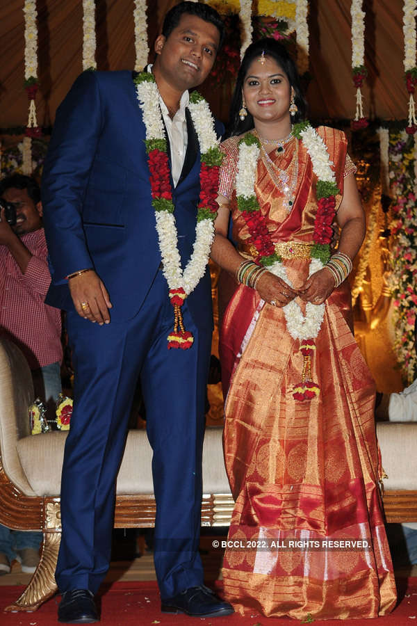 Deepak and Shwetha tie the knot