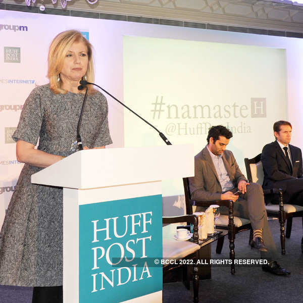 Huffington Post now in India with Times Group