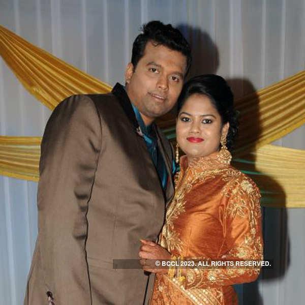 Deepak & Shwetha's wedding reception