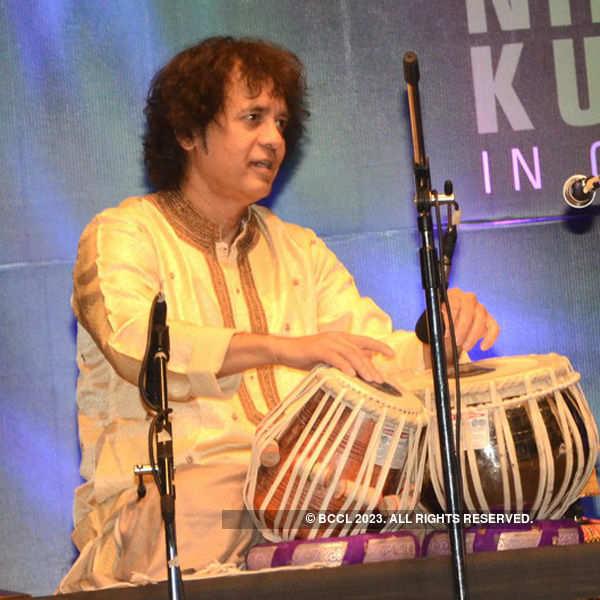 Zakir Hussain & Niladri Kumar's musical concert