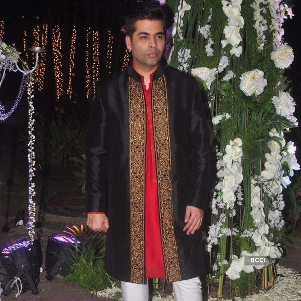 Celebs @ Tejas and Rriddhi's sangeet ceremony