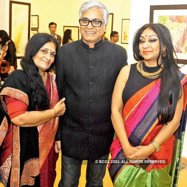 Pushpa Bagrodia's art exhibition