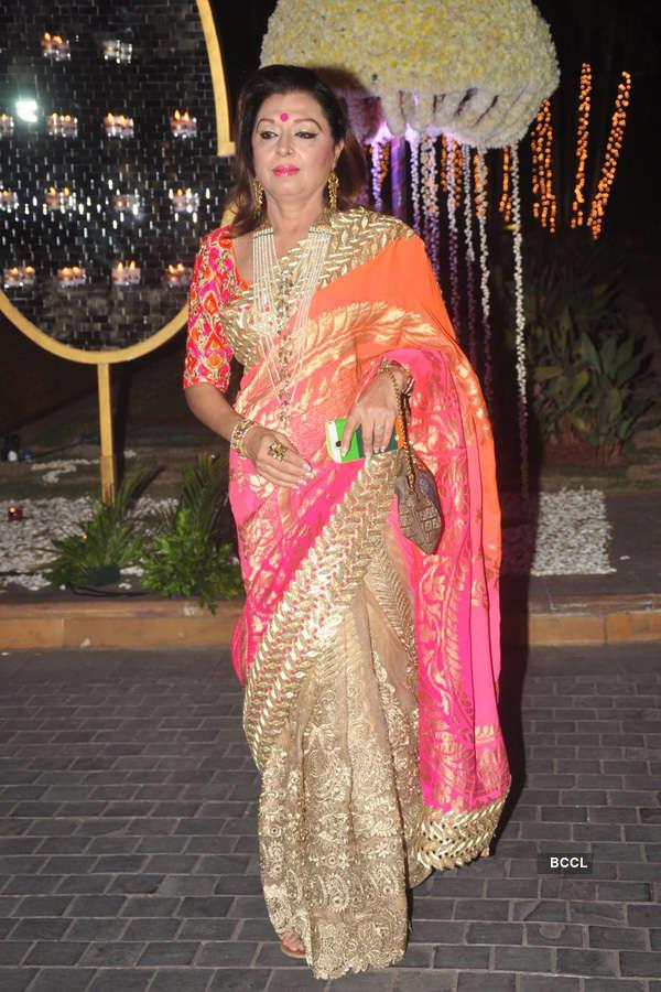 Celebs at Riddhi, Tejas's wedding reception