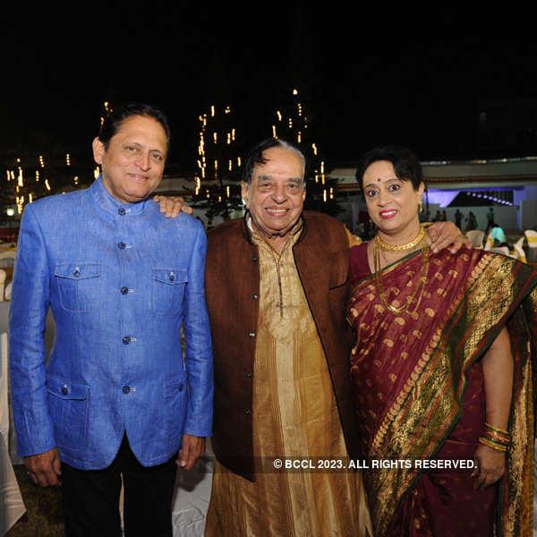 Rohan Mankani's wedding ceremony
