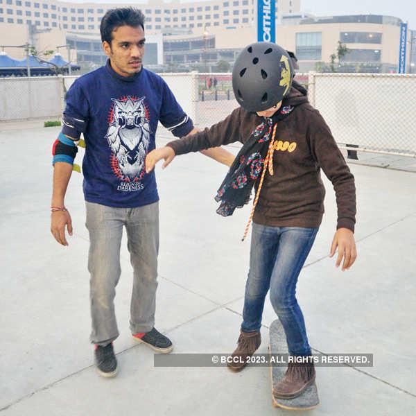 Skateboarding event