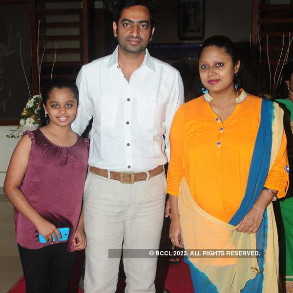 Vinay Forrt and Soumya's wedding reception