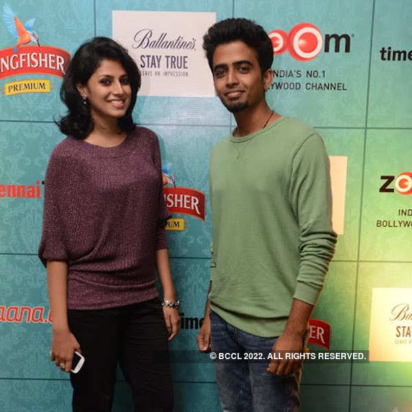Celebs at Times Food Guide's party