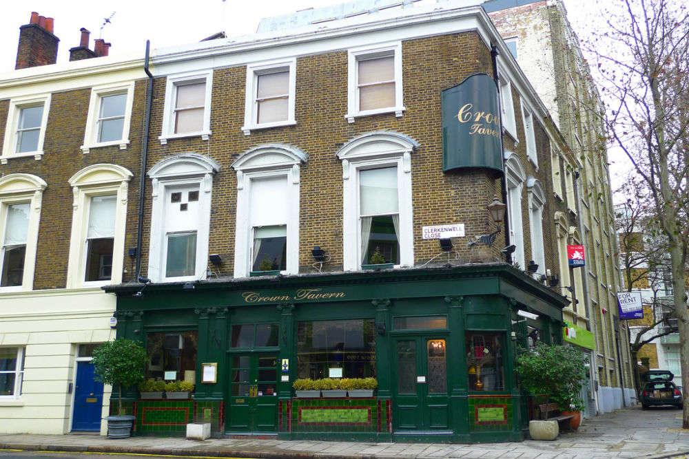 The Crown Tavern, Clerkenwell
