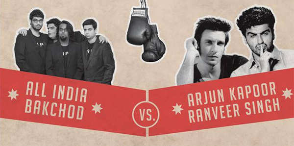 AIB Knockout: Bollywood's edgy exchanges at the 'roast'