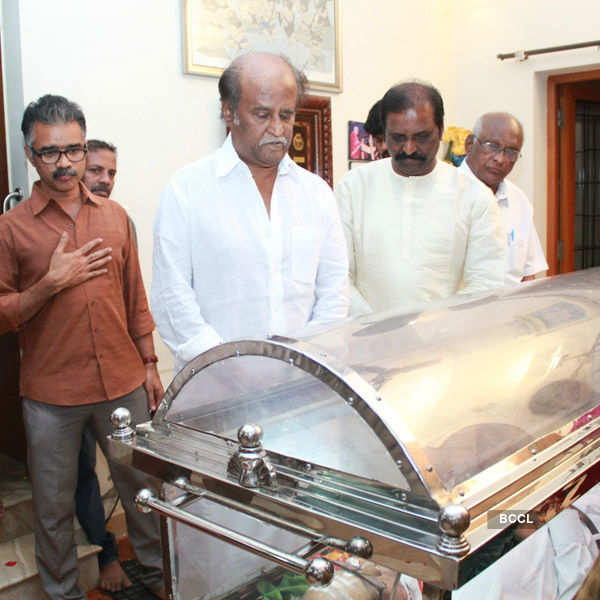 Celebs pay homage to K Balachander