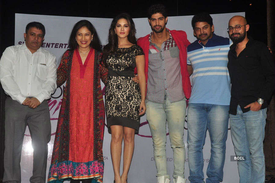 Sunny @ movie launch