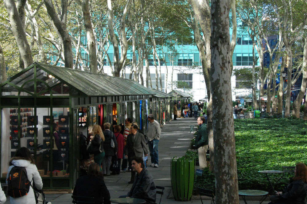 The Holiday Shops at Winter Village at Bryant Park
