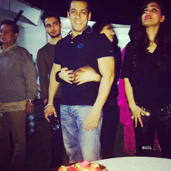 Salman Khan's 49th Birthday party