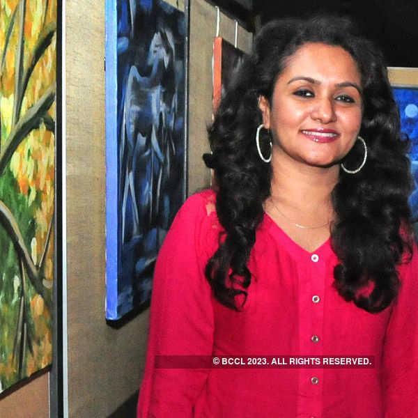 Rahana Habeeb's painting exhibition