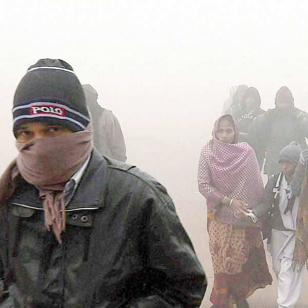 Gurgaon freezing at 0.4ºC, Delhi at 2.6ºC