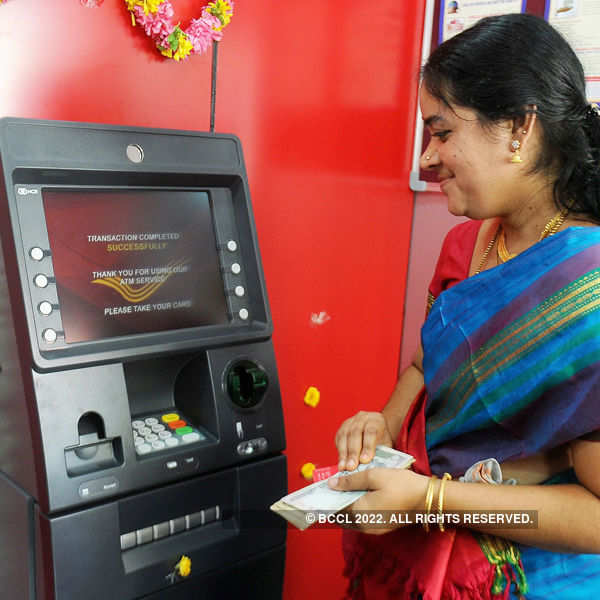 Post offices can provide ATM cards