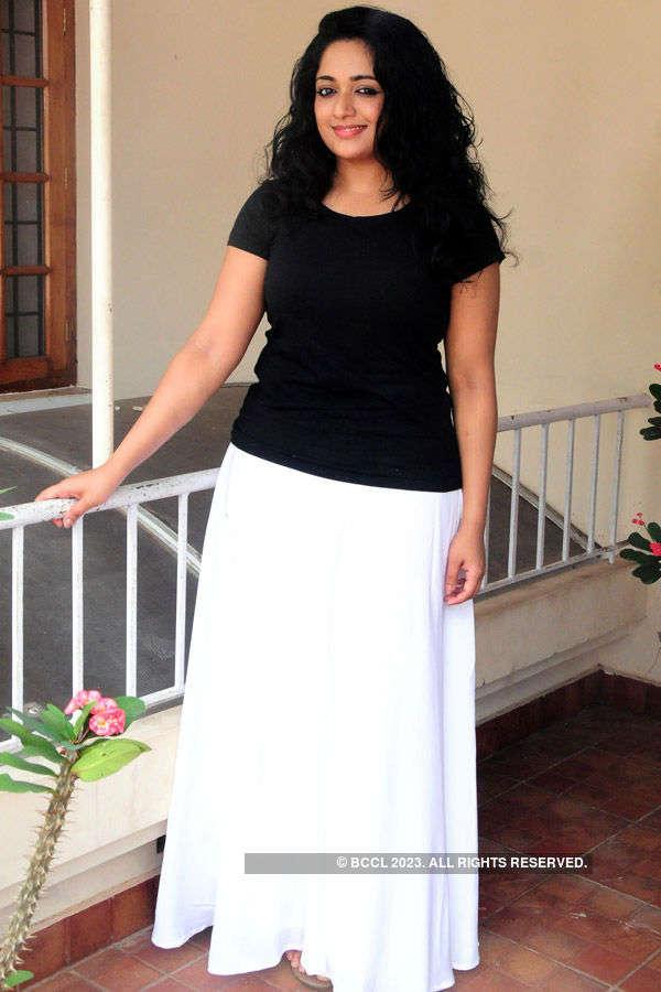 Kavya @ Akashavani's shoot