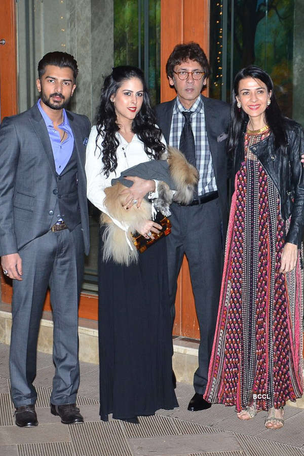Celebs @ Sanjay Dutt's New Year party