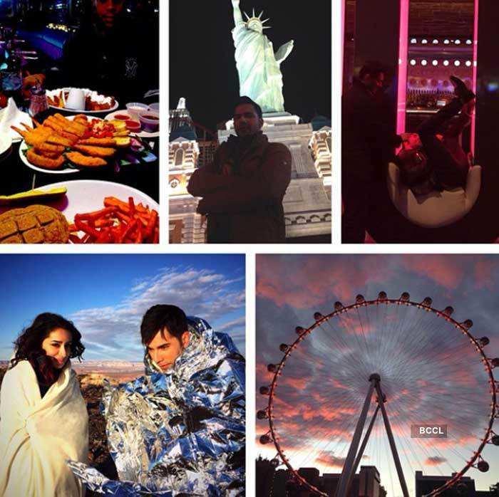 Celebrities celebrate New Year's Eve